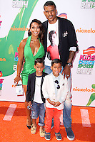 WESTWOOD, LOS ANGELES, CA, USA - JULY 17: Gloria Govan, Matt Barnes at the Nickelodeon Kids' Choice Sports Awards 2014 held at UCLA's Pauley Pavilion on July 17, 2014 in Westwood, Los Angeles, California, United States. (Photo by Xavier Collin/Celebrity Monitor)