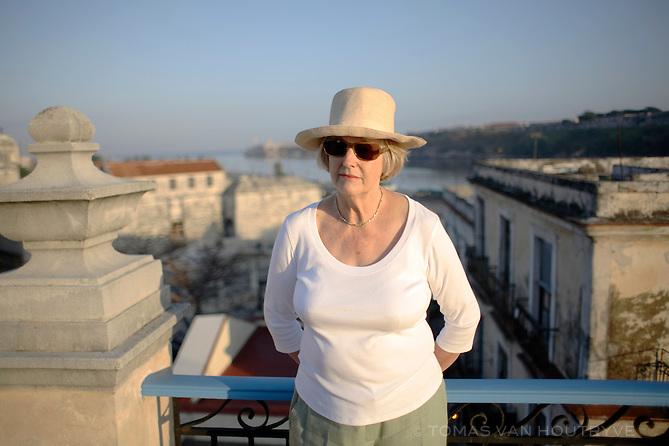 Dame Stella Rimington, former head of MI5 (United Kingdom Security Service), is seen in Havana, Cuba on 25 February 2007.