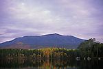Fall view of MT Katahdin, Baxter State Park, Maine, USA