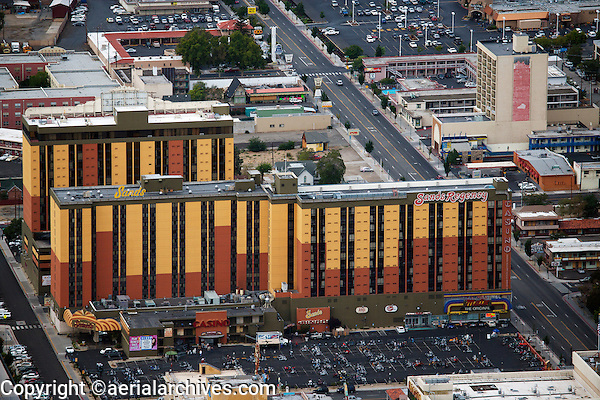 aerial photograph Sands Regency Reno, Nevada