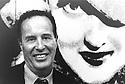 Kennet Anger American experemental film maker Portrait 1989  CREDIT Geraint Lewis