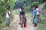 Women Carrying Bananas
