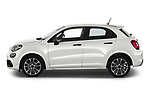 Car Driver side profile view of a 2020 Fiat 500X Sport 5 Door SUV Side View