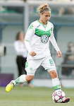VfL Wolfsburg's Babett Peter during UEFA Women's Champions League 2015/2016 Final match.May 26,2016. (ALTERPHOTOS/Acero)
