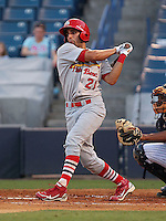 May 20, 2010 Outfielder Alex Castellanos of the Palm Beach Cardinals, Florida State League Class-A affiliate of the St.Louis Cardinals, during a game at George M. Steinbrenner Field in Tampa, FL. Photo by: Mark LoMoglio/Four Seam Images