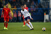 Jordan Henderson of England sets up England's fifth goal to make the score 1-5  <br /> Podgorica 25-3-2019 <br /> Football Euro2020 Qualification Montenegro - England <br /> Foto Daniel Chesterton / PHC / Insidefoto <br /> ITALY ONLY