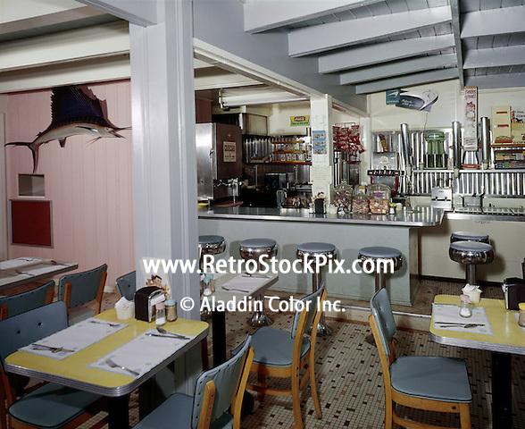 Coffee Shop of the Ocean Park Motel.