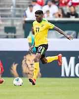 PHILADELPHIA, PA - JUNE 30: Damion Lowe #17 during a game between Panama and Jamaica at Lincoln Financial Field on June 30, 2019 in Philadelphia, Pennsylvania.