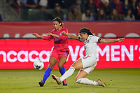 CARSON, CA - FEBRUARY 7: Lynn Williams #13 of the United States during a game between Mexico and USWNT at Dignity Health Sports Park on February 7, 2020 in Carson, California.