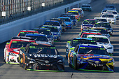 Monster Energy NASCAR Cup Series<br /> ISM Connect 300<br /> New Hampshire Motor Speedway<br /> Loudon, NH USA<br /> Sunday 24 September 2017<br /> Martin Truex Jr, Furniture Row Racing, Furniture Row/Denver Mattress Toyota Camry and Kyle Busch, Joe Gibbs Racing, M&M's Caramel Toyota Camry<br /> World Copyright: Nigel Kinrade<br /> LAT Images