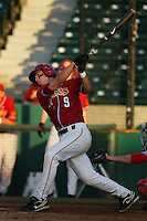 March 7 2010: Ryan Bast of USC during game against University of New Mexico at Dedeaux Field in Los Angeles,CA.  Photo by Larry Goren/Four Seam Images