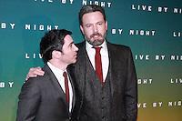Chris Messina Ben Affleck - Avant-premiËre du film 'Live by Night' aux Champs-ElysÈes ‡ Paris, le 16/01/2017. # PREMIERE DU FILM 'LIVE BY NIGHT' A PARIS