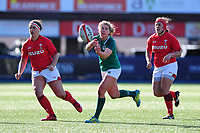 Ellen Murphy of Ireland in action during the Women's Six Nations match between Wales and Ireland at Cardiff Arms Park, Cardiff, Wales, UK. Sunday 17 March 2019