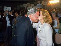 Montreal (Qc) CANADA,1995 File Photo <br /> <br /> Parti Quebecois  Leader Jacques Parizeau <br /> <br /> Photo by Pierre Roussel / Images Distribution
