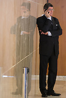 BRASILIA, DF, 02.10.2015 - LEVY-REFORMA - O ministro da Fazenda, Joaquim Levy, durante declaração sobre a reforma administrativa do<br /> Governo Federal, no Palácio do Planalto , nesta sexta-feira, 02. (Foto: Ed Ferreira / Brazil Photo Press)