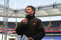 Stadionsprecher der Frankfurt Galaxy Steffen Popp