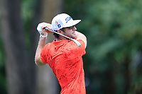 4th September 2020, Atlanta GA, USA;  Lanto Griffin tees off during the first round of the TOUR Championship  at the East Lake Golf Club in Atlanta, GA.