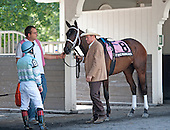 Firehouse Red and Larry Jones before the Sands Point.