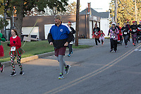 The Santa's Spirit Sprint race, Barnesville, OH on December 2, 2017.