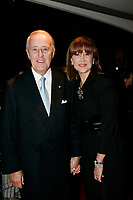 September 18, 2005 File Photo - <br /> Brian Mulroney, Former Canadian Prime Minister and wife Mila Mulroney<br /> at the opening of the first NEW MONTREAL FILMFEST <br /> <br /> Photo by Pierre Roussel / Images Distribution