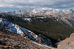 Never Summer Mountains near The Crater, Speciman Mountain, alpine, landscape, scenic, forest, Rocky Mountain National Park, Colorado, Rocky Mountains, USA