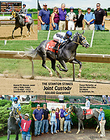 Joint Custody winning The 2014 Stanton Stakes at Delaware Park racetrack