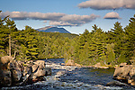Penobscot River whitewater , Piscataquis County, ME