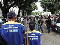 14/06/2021 - SERVIDORES PROTESTAM NA CAMARA DE RECIFE