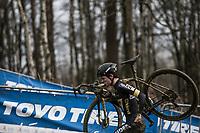 Thomas Pidcock (GBR/Telenet Fidea Lions)<br /> <br /> U23 race<br /> GP Sven Nys 2018