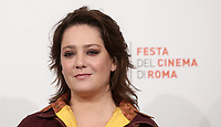 L'attrice Giovanna Mezzogiorno posa durante il  photocall 'Tornare' alla 14^ Festa del Cinema di Roma all'Aufditorium Parco della Musica di Roma, 26 ottobre 2019. <br /> Italian actress Giovanna Mezzogiorno poses for a photocall to present  'Tornare' during the 14^ Rome Film Fest at Rome's Auditorium, on 26 October 2019.<br /> UPDATE IMAGES PRESS/Isabella Bonotto