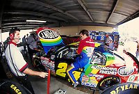 JEFF GORDON  WINSTON CUP RACE DOVER DOWNS SPEEDWAY. JEFF GORDON, PROFESSIONAL RACE CAR DRIVER. DOVER DELAWARE USA.