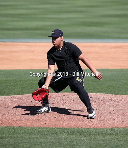 Jose Suarez -2018 Salt Lake Bees (Bill Mitchell)