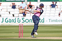 John Simpson hits 4 runs for Middlesex during Essex Eagles vs Middlesex, Vitality Blast T20 Cricket at The Cloudfm County Ground on 18th July 2021