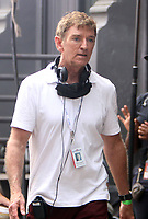 NEW YORK, NY - July 20: Michael Patrick King on the set of the HBOMax Sex and the City reboot series And Just Like That on July 20, 2021 in New York City. Credit: RW/MediaPunch