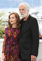 ISABELLE HUPPERT AND DIRECTOR MICHAEL HANEKE - PHOTOCALL OF THE FILM 'HAPPY END' AT THE 70TH FESTIVAL OF CANNES 2017