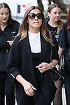 © Joel Goodman - 07973 332324 . 30/06/2017 . Stockport , UK . KYM MARSH arrives . The funeral of Martyn Hett at Stockport Town Hall . Martyn Hett was 29 years old when he was one of 22 people killed on 22 May 2017 in a murderous terrorist bombing committed by Salman Abedi, after an Ariana Grande concert at the Manchester Arena . Photo credit : Joel Goodman