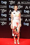Aura Garrido attends the Goya Awards nominee party at Canal Theater in Madrid, Spain. January 20, 2014. (ALTERPHOTOS/Victor Blanco)