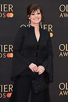 Ruthie Henshall<br /> arriving for the Olivier Awards 2019 at the Royal Albert Hall, London<br /> <br /> ©Ash Knotek  D3492  07/04/2019