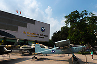 US planes in Saigon war remnants museum, Vietnam