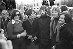 1970S NORTHERN IRELAND PEACE MOVEMENT DEMO LONDON