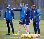 02.04.2019 Rangers training: Alfredo Morelos