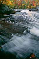 Sinclair Falls, South Branch Grass River<br /> Tolly Pond Forest Preserve<br /> Adirondack Park, Adirondack Mountains<br /> St. Lawrence County,  New York