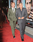 George Clooney and Ryan Gosling at The Columbia Pictures' L.A. Premiere of The Ides of March held at The Academy of Motion Picture Arts & Sciences  in Beverly Hills, California on September 27,2011                                                                               © 2011 Hollywood Press Agency