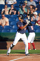 Portland Sea Dogs center fielder Henry Ramos (21) during a game against the Reading Fightin Phils on May 31, 2016 at Hadlock Field in Portland, Maine.  Reading defeated Portland 6-4.  (Mike Janes/Four Seam Images)