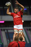 Saturday 5th September 2020 | PRO14 Semi-Final<br /> <br /> Alan O'Connor during the warm-up before the Guinness PRO14 Semi-Final between Edinburgh and Ulster at the BT Murrayfield Stadium Edinburgh, Scotland. Photo by David Gibson / Dicksondigital