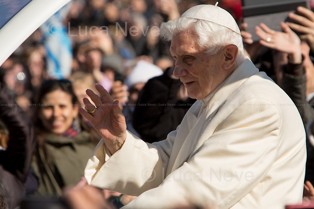 Pope Benedict XVI, the Pope Emeritus.
