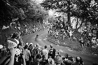 descending the Grand Colombier<br /> <br /> stage 15: Bourg-en-Bresse to Culoz (160km)<br /> 103rd Tour de France 2016