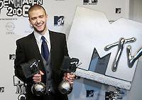 København, 20061102. MTV Europe Music Awards. Justin Timerlake. Red Carpet.   Foto: Eirik Helland Urke / Dagbladet