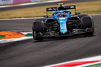 10th September, September 2021; Nationale di Monza, Monza, Italy; FIA Formula 1 Grand Prix of Italy, Free practise and qualifying for sprint race:  31 Esteban Ocon FRA, Alpine F1 Team