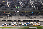 #52: Stewart Friesen, Halmar Friesen Racing, Toyota Tundra Halmar International, #4: Raphael Lessard, Kyle Busch Motorsports, Toyota Tundra JBL, #16: Austin Hill, Hattori Racing Enterprises, Toyota Tundra United Rentals